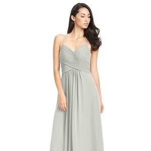 Azazie Haleigh Bridesmaid dress in Silver